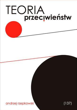 Okładka książki Teoria przeciwieństw