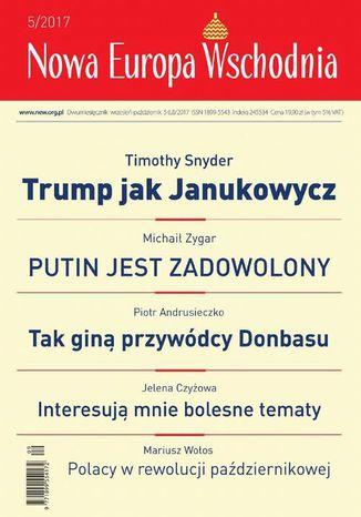Okładka książki/ebooka Nowa Europa Wschodnia 5/2017