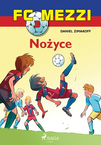Okładka książki/ebooka FC Mezzi 3 - Nożyce