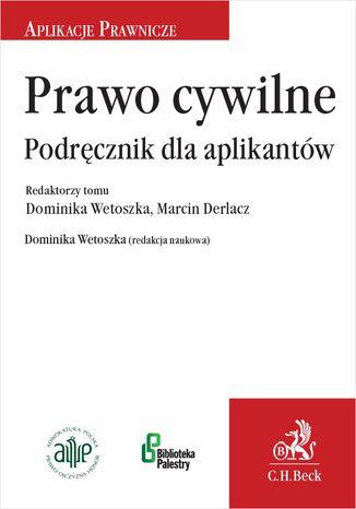 Okładka książki/ebooka Prawo cywilne. Podręcznik dla aplikantów