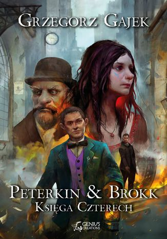 Okładka książki/ebooka Peterkin & Brokk: Księga Czterech