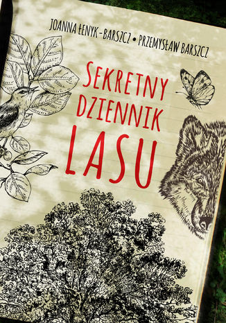 Okładka książki Sekretny dziennik lasu