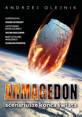 Okładka książki/ebooka Armagedon. Scenariusze końca świata
