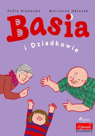Okładka książki/ebooka Basia i Dziadkowie
