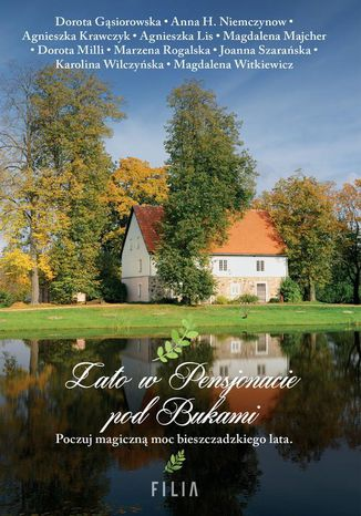 Okładka książki/ebooka Lato w Pensjonacie pod Bukami