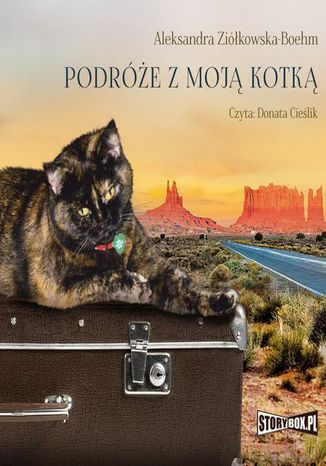 Okładka książki Podróże z moją kotką