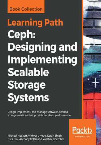Okładka książki/ebooka Ceph: Designing and Implementing Scalable Storage Systems