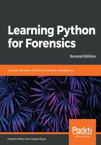 Okładka książki/ebooka Learning Python for Forensics