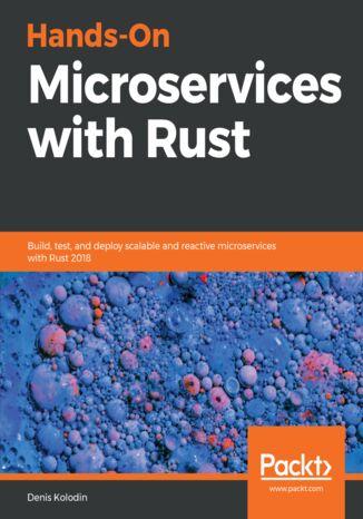 Okładka książki/ebooka Hands-On Microservices with Rust