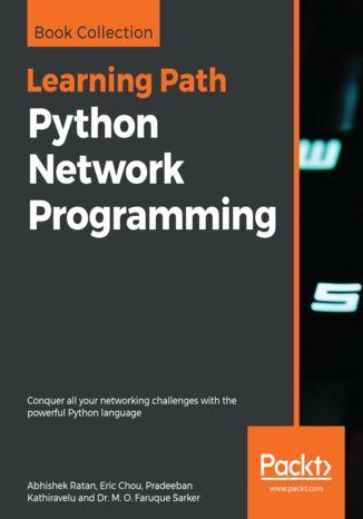 Okładka książki Python Network Programming