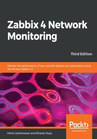 Okładka książki Zabbix 4 Network Monitoring