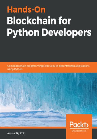 Okładka książki Hands-On Blockchain for Python Developers