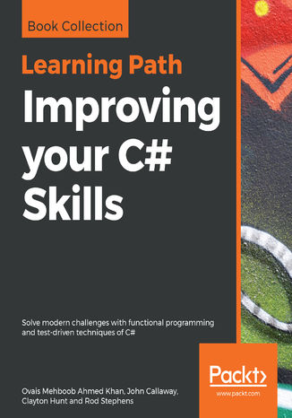 Okładka książki/ebooka Improving your C# Skills