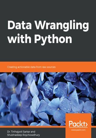 Okładka książki/ebooka Data Wrangling with Python