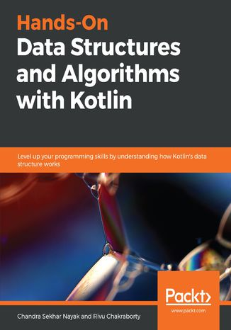 Okładka książki/ebooka Hands-On Data Structures and Algorithms with Kotlin