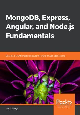 Okładka książki/ebooka MongoDB, Express, Angular, and Node.js Fundamentals