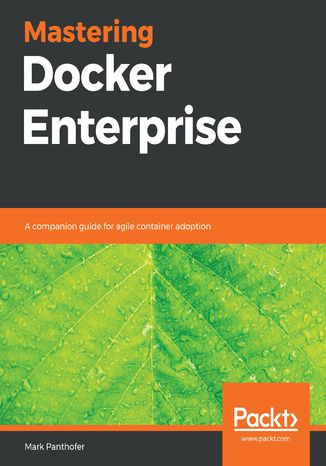 Okładka książki/ebooka Mastering Docker Enterprise