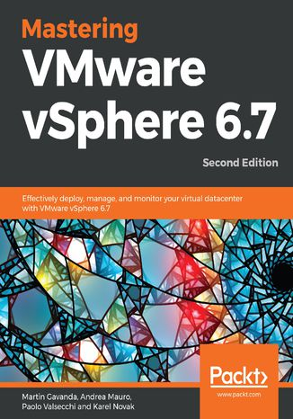 Okładka książki/ebooka Mastering VMware vSphere 6.7