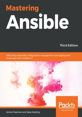 Okładka książki/ebooka Mastering Ansible
