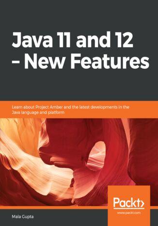 Okładka książki Java 11 and 12  New Features