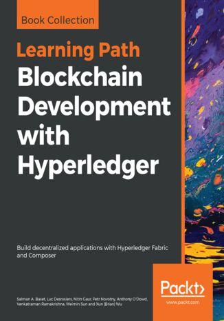 Okładka książki/ebooka Blockchain Development with Hyperledger