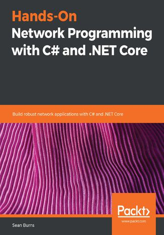 Okładka książki/ebooka Hands-On Network Programming with C# and .NET Core