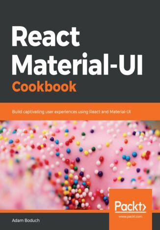 Okładka książki/ebooka React Material-UI Cookbook
