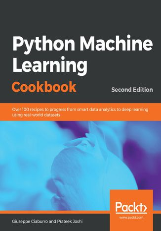 Okładka książki/ebooka Python Machine Learning Cookbook