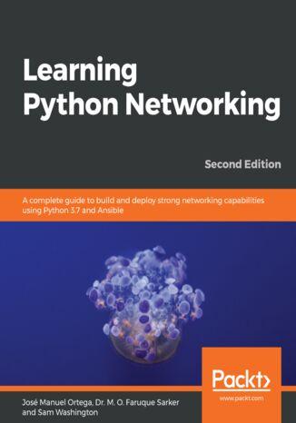 Okładka książki/ebooka Learning Python Networking