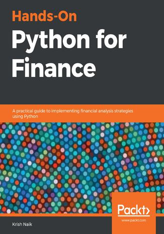 Okładka książki/ebooka Hands-On Python for Finance