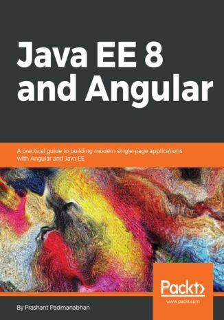 Okładka książki/ebooka Java EE 8 and Angular