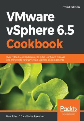 Okładka książki/ebooka VMware vSphere 6.5 Cookbook - Third Edition