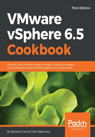 Okładka książki VMware vSphere 6.5 Cookbook - Third Edition