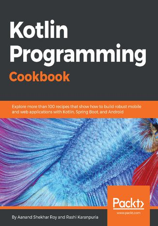 Okładka książki Kotlin Programming Cookbook