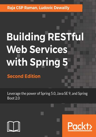 Okładka książki Building RESTful Web Services with Spring 5 - Second Edition