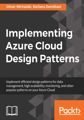 Okładka książki/ebooka Implementing Azure Cloud Design Patterns