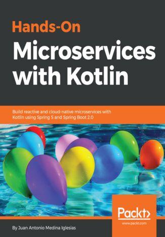 Okładka książki/ebooka Hands-On Microservices with Kotlin