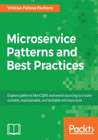 Okładka książki Microservice Patterns and Best Practices