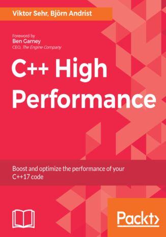 Okładka książki/ebooka C++ High Performance