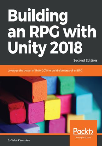 Okładka książki/ebooka Building an RPG with Unity 2018