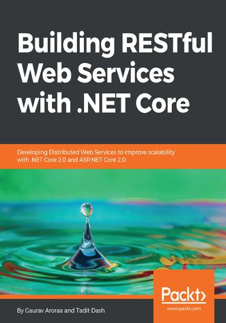 Okładka książki Building RESTful Web Services with .NET Core