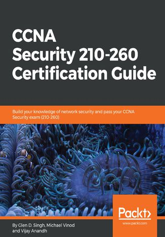 Okładka książki CCNA Security 210-260 Certification Guide