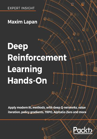 Okładka książki Deep Reinforcement Learning Hands-On
