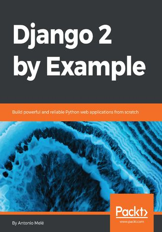 Okładka książki Django 2 by Example