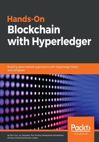 Okładka książki/ebooka Hands-On Blockchain with Hyperledger