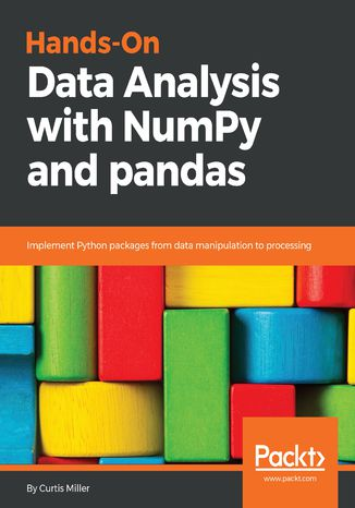 Okładka książki Hands-On Data Analysis with NumPy and pandas