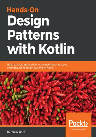 Okładka książki/ebooka Hands-On Design Patterns with Kotlin