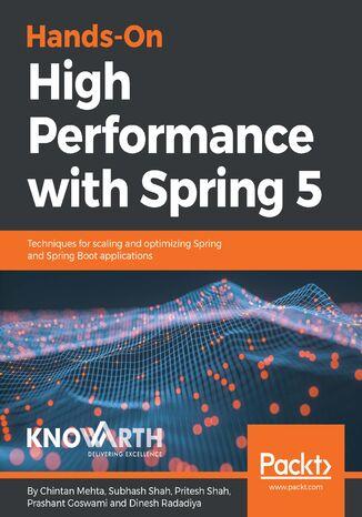 Okładka książki/ebooka Hands-On High Performance with Spring 5