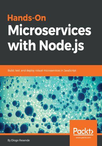 Okładka książki/ebooka Hands-On Microservices with Node.js