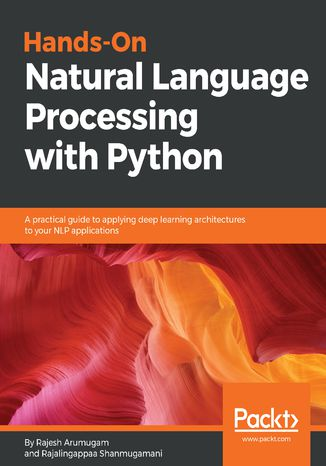 Okładka książki/ebooka Hands-On Natural Language Processing with Python